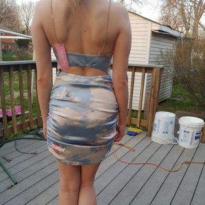 d2227484d5 Dolls Kill Dresses - BRAND NEW Sugar Thrillz Celestial Sass Satin Dress